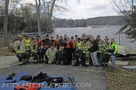 1-29-2017 Ice Drill   - PVVFD with Mahopac Falls Volunteer Fire Deparment