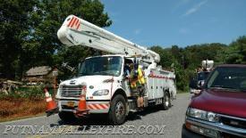 7/31 Wires down Oscawana/Church Roads