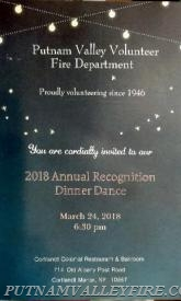 2017 Annual Recognition Awards Dinner Dance - March 24th.