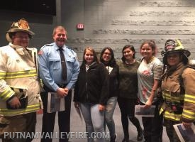 PVVFD Explorer Post presentation to PV High School - 10/17/2018