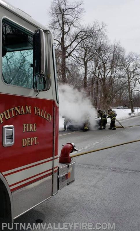 3/8/19 - Car Fire on the TSP