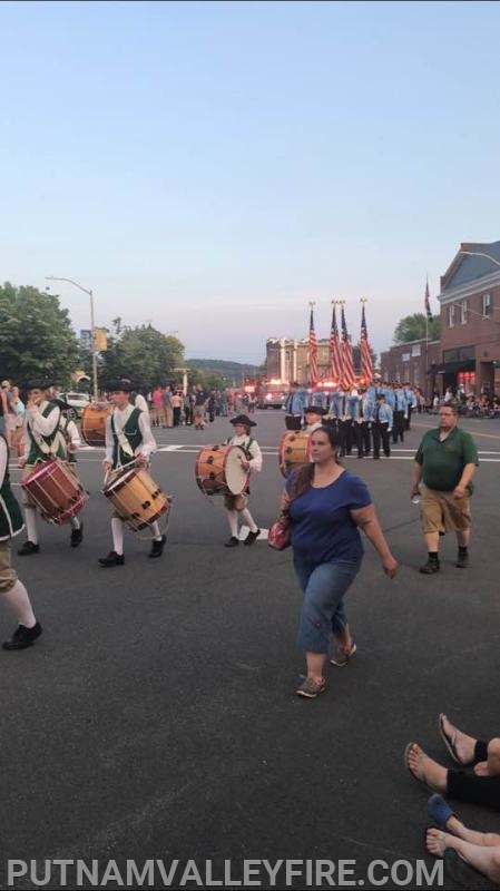 May 31st, Pleasantville Fire Department parade.