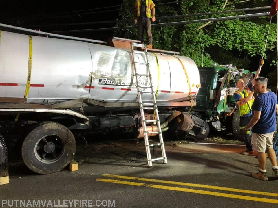 8/19/19 - Over-turned Tanker,8/19/19 - Over-turned Tanker