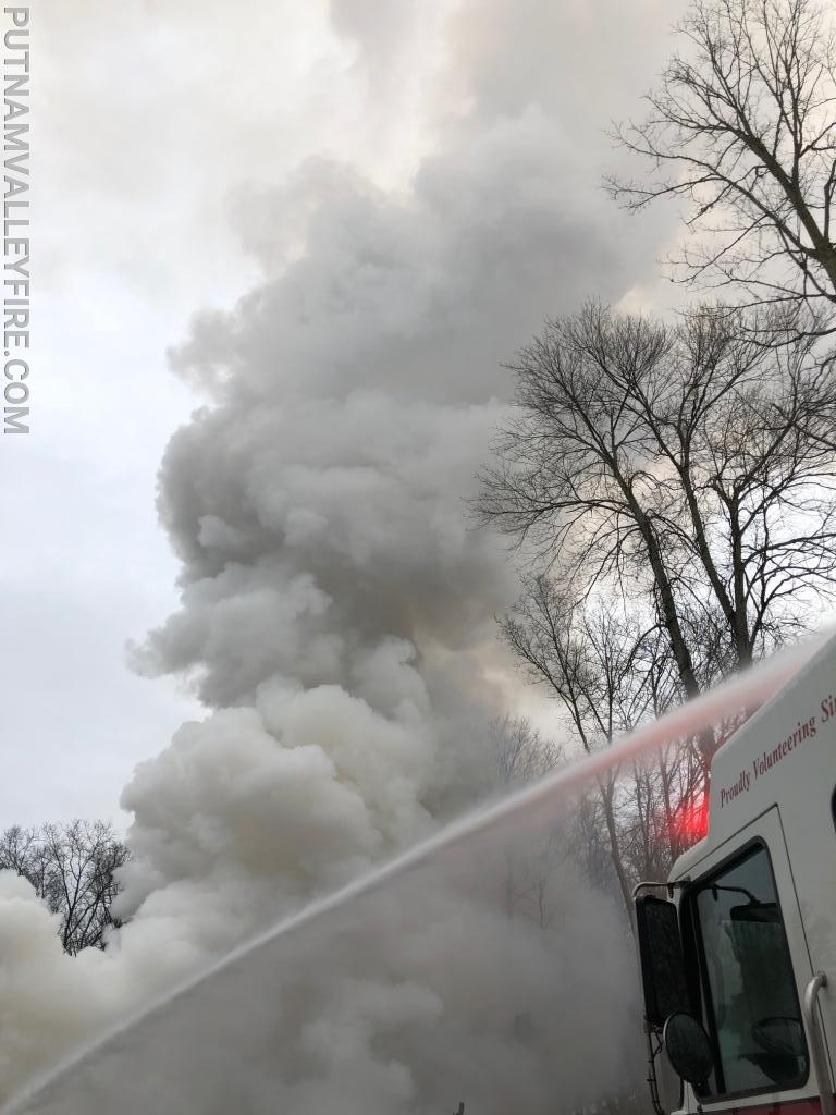 12/13/19 Structure Fire Canopus Hollow Road