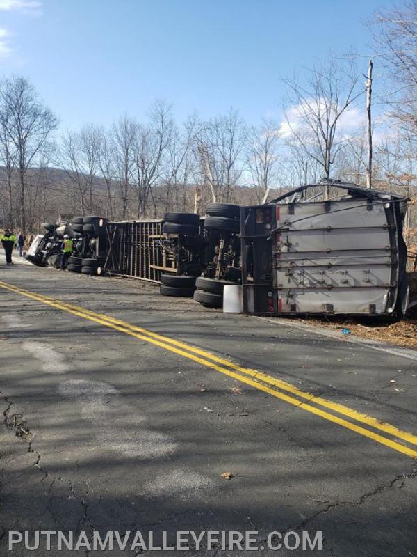 2/19/2020 Overturned Truck